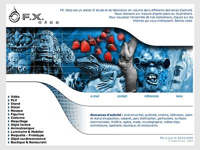 creation de site internet de fxdeco